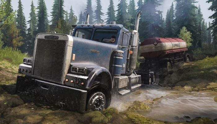 Spintires MudRunner American Wilds Expansion Game Free Download Torrent